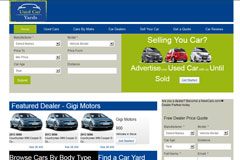 Web Design - Used Car Yards